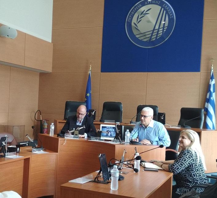 Συνάντηση των μελών της υπό σύσταση Περιφερειακής Επιτροπής Ισότητας