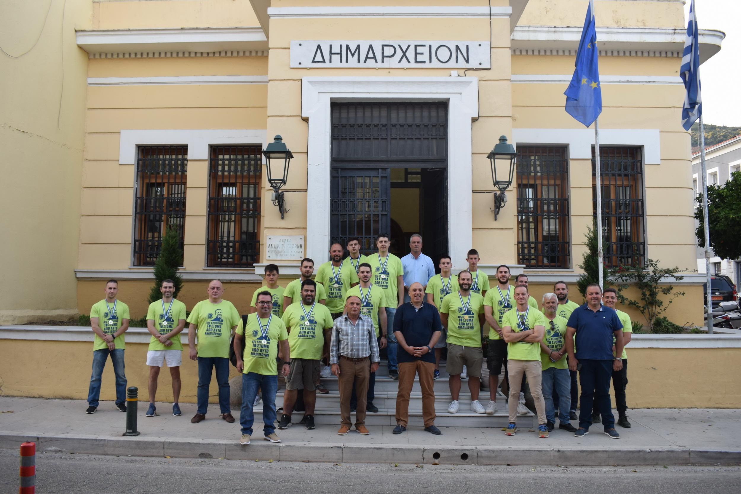 «ΦΑΕΘΩΝ – ΓΕΦΥΡΑ»: Άνοδος κατηγορίας, τιμή από τον Δήμο Ναυπακτίας και ισχυρό κοινωνικό στίγμα