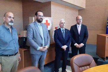 Πολύπλευρη συνεργασία της Περιφέρειας με τον Ελληνικό Ερυθρό Σταυρό (φωτο & βίντεο)
