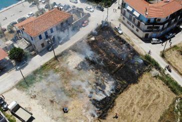Μύτικας: Αναστάτωση από φωτιά σε οικόπεδο τις μεσημεριανές ώρες