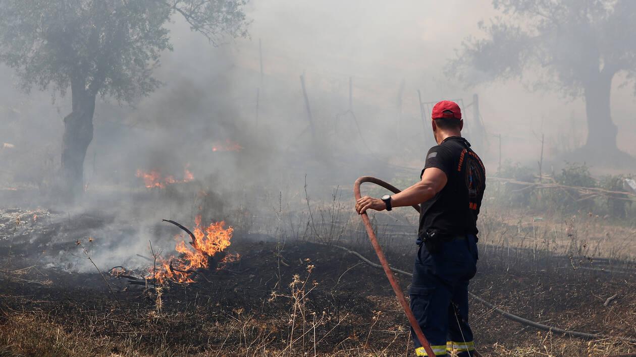 Ζάκυνθος: Σε ύφεση η φωτιά στις Μαριές – Σε επιφυλακή οι φορείς