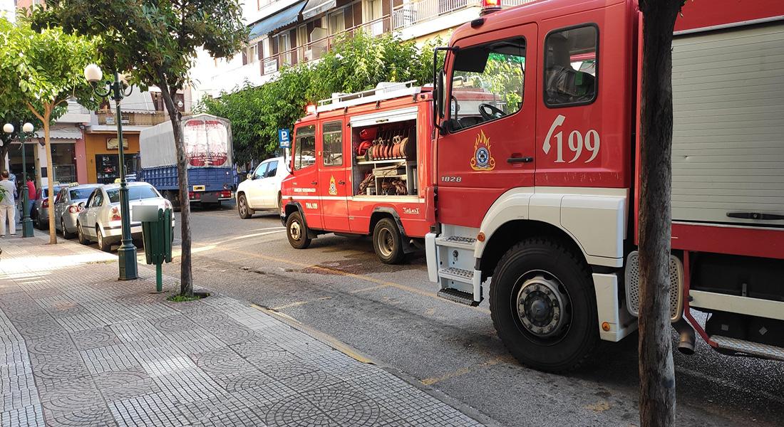 Αγρίνιο: κινητοποίηση για φωτιά σε καφετέρια πλησίον της Μητρόπολης