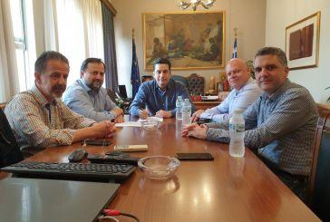 Πολλά θέματα στη συνάντηση του δημάρχου Αγρινίου με τους εκπροσώπους του τοπικού ΤΕΕ