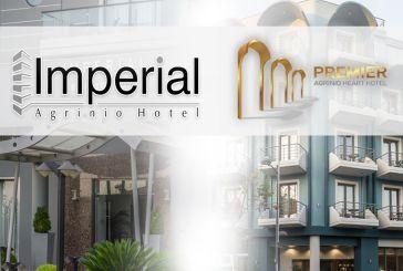 Αγρίνιο: Πανέτοιμα να σας υποδεχτούν τα ξενοδοχεία Imperial και Premier Heart