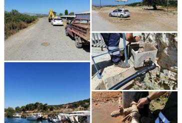 Διακοπή παράνομων υδροδοτήσεων από τον δήμο Ξηρομέρου