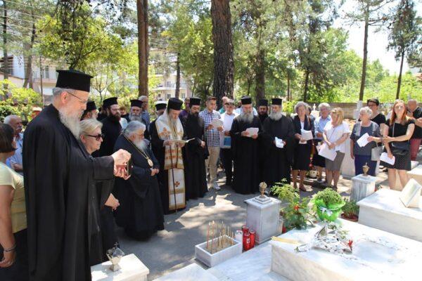 Πρώτη παράκληση στον τάφο τοu Αγίου Καλλινίκου Εδέσσης