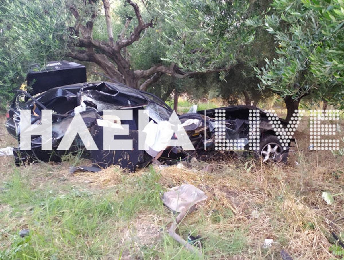 Τραγωδία στην Ηλεία: 17χρονος νεκρός σε τροχαίο – Ο φίλος του εκτινάχθηκε έξω από το αυτοκίνητο