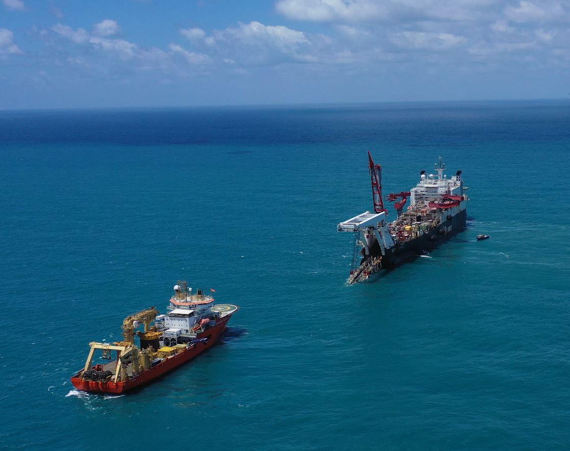 Energean: Ολοκληρώθηκε η τοποθέτηση του αγωγού φυσικού αερίου και των υποθαλάσσιων εγκαταστάσεων στο Ισραήλ