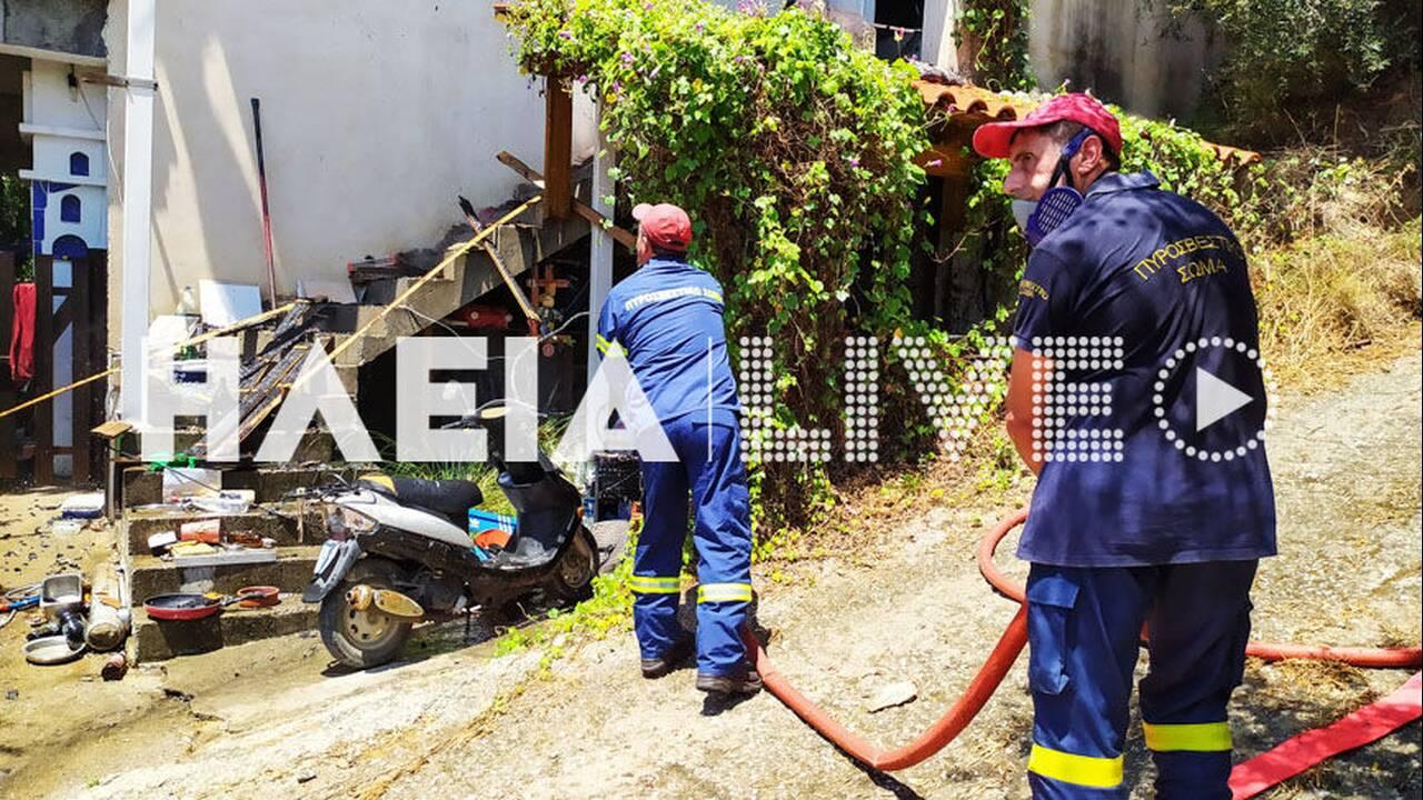 Νεκρός ηλικιωμένος από φωτιά στο σπίτι του στην Ηλεία