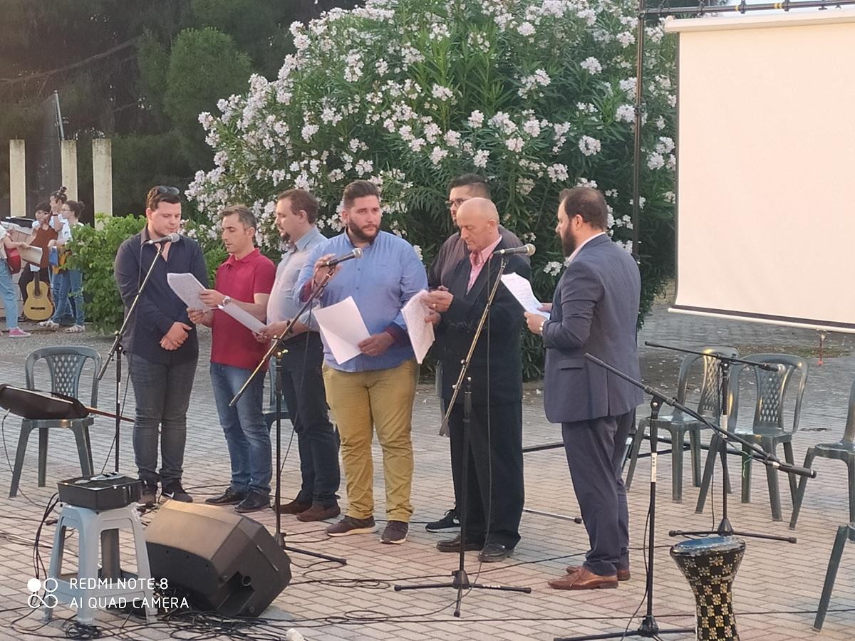 Με μουσική και βραβεύσεις καθηγητών η τελετή λήξης του Κοινωνικού Φροντιστηρίου του Ι. Ν. Αγίου Δημητρίου Αγρινίου