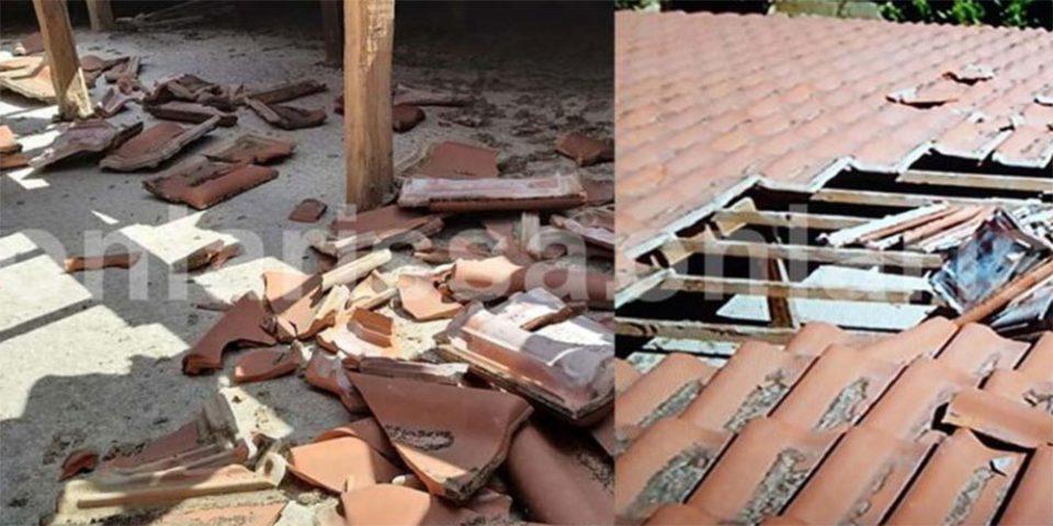 Απίστευτο περιστατικό στη Λάρισα: Αεροσκάφος «ξήλωσε» σκεπή σπιτιού – Τι δηλώνουν οι ένοικοι