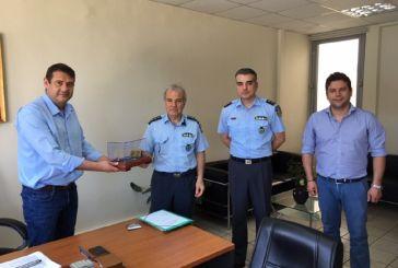 Με εκπροσώπους των αστυνομικών αρχών συναντήθηκε ο Δήμαρχος Αμφιλοχίας