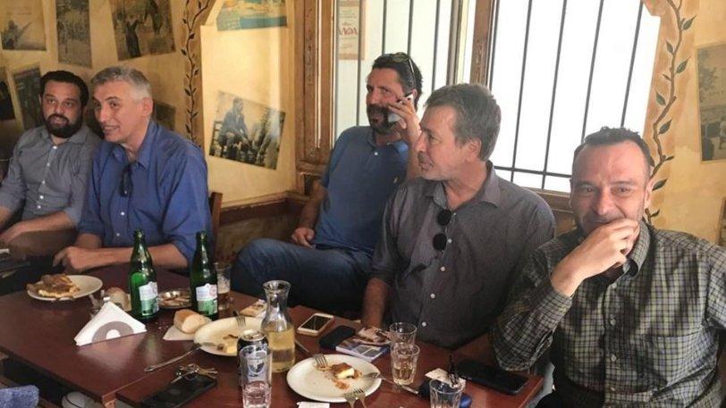 Θερμή υποδοχή σε Φασούλα, Ιωάννου και Ρεντζιά στο Αγρίνιο!