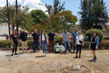 Δράσεις καθαριότητας από την ΟΝΝΕΔ στο Αγρίνιο