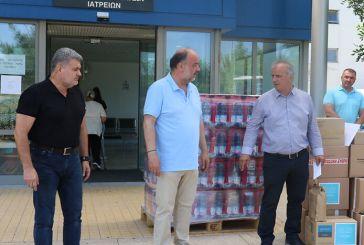 Παναιτωλικός: Στο Νοσοκομείο Αγρινίου παραδόθηκαν οι προσφορές του Τηλεμαραθωνίου