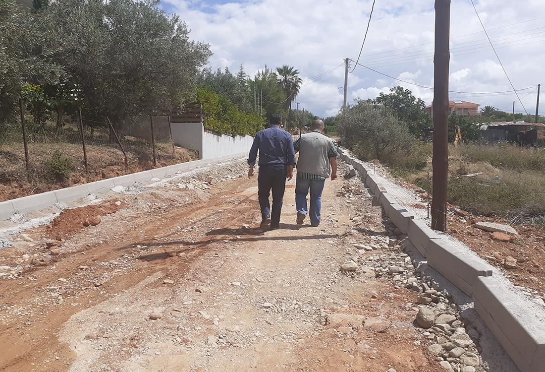 Αγρίνιο: Σε εξέλιξη έργα οδοποιίας, ύδρευσης και αποχέτευσης στην επέκταση του σχεδίου πόλης