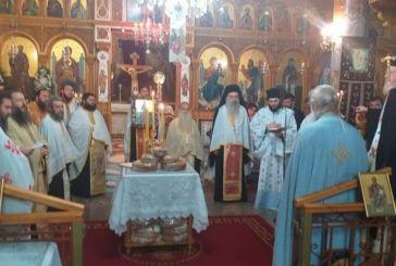 Μέγας εσπερινός στον Ιερό Ναό Αποστόλου Παύλου Μεσολογγίου