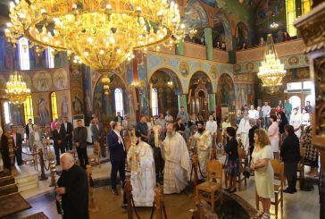 Πεντηκοστή στον Ιερό Ναό Αγίας Παρασκευής Ναυπάκτου