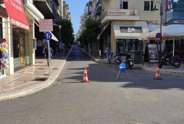 Πρεμιέρα πεζοδρομήσεων και κυκλοφοριακών ρυθμίσεων στο κέντρο του Αγρινίου
