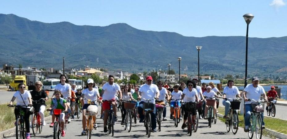 Μαζικά στους δρόμους το Μεσολόγγι για την παγκόσμια ημέρα ποδηλάτου (φωτο- video)