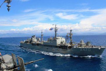 Καρέ – καρέ η πολυεθνική άσκηση Ναρκοπολέμου «Αριάδνη 20» στον Πατραϊκό Κόλπο