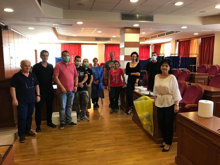 Τεστ κορωνοϊού σε υπαλλήλους της Π.Ε. Αιτωλοακαρνανίας