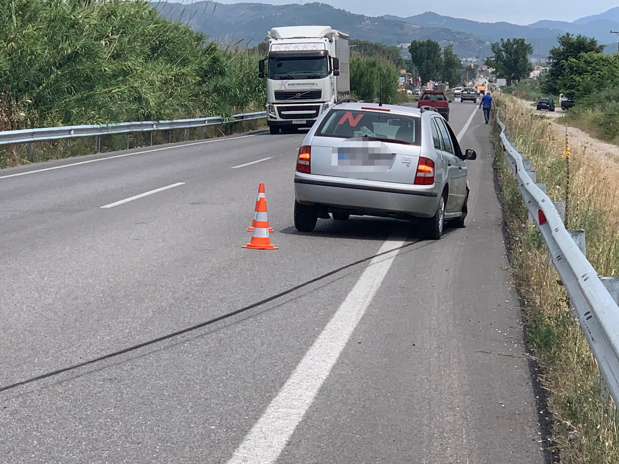 Αγρίνιο: Ένα ακόμη τροχαίο στην εθνική οδό