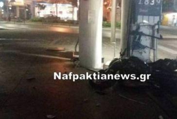 Ναύπακτος: οδηγούσε μηχανή μεθυσμένος και τράκαρε