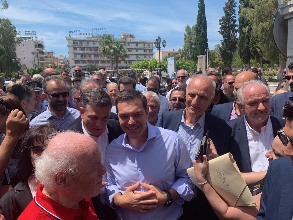 Μεσολόγγι: στον Κήπο των Ηρώων ο Τσίπρας-επίθεση στην κυβέρνηση