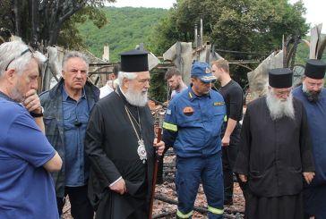 Μονή Βαρνάκοβας: Γενικό πένθος για την απώλεια της αυτοκρατορικής εικόνας της Παναγίας