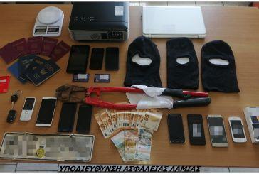 Εξαρθρώθηκε από την αστυνομία της Λαμίας σπείρα κλεφτών με δράση και στο Αγρίνιο
