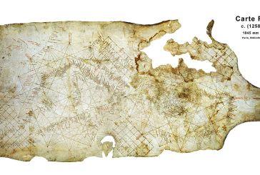 Ποια τοπωνύμια της Αιτωλοακαρνανίας εμφανίζονται στον πιο παλιό πορτολάνο χάρτη του 1258-1291 μ.Χ.