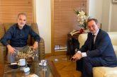 Συνάντηση Σαλμά με τον πρεσβευτή της Τσεχίας