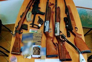 """""""Απαντήσεις"""" από την βαλλιστική έρευνα περιμένει η αστυνομία για τα όπλα στο Καινούργιο"""