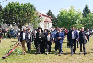 Εορταστικές εκδηλώσεις στην Αγία Κυριακή Λεπτοκαρυάς Ναυπακτίας