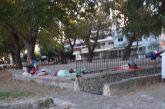 """Ναύπακτος: """"Τριτοκοσμική εικόνα"""" στο Αλσύλλιο Γριμπόβου"""