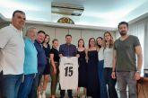 Στον Δήμαρχο Αγρινίου οι πρωταθλήτριες των «Αργοναυτών»