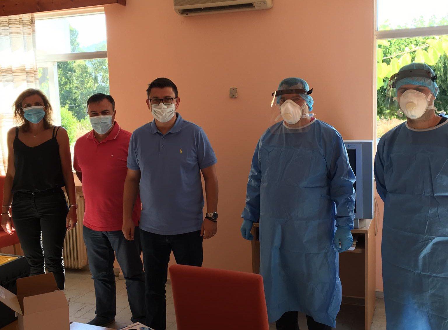 Στο Κέντρο Υγείας Αστακού κλιμάκιο του ΕΟΔΥ