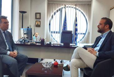 Συνάντηση του Περιφερειάρχη με τον Υφυπουργό Τουρισμού : Στόχος η ισχυρή τουριστική ανάπτυξη