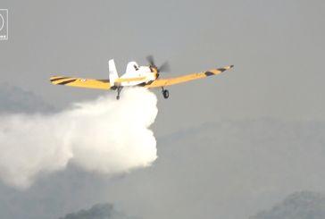 """Ξηρομερίτης με χιούμορ στη φωτιά στην Τρύφου: """"είναι αερoπλάνα αυτά, έτσι κ…τουράει το σκυλί στην ρεζέρβα""""! (βίντεο)"""