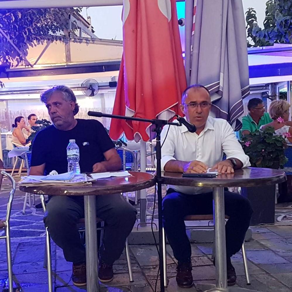 Ν. Παπαναστάσης από Αστακό: Το ΚΚΕ πλάι στα προβλήματα εργαζομένων, ανέργων, αγροτών και μικροεπαγγελματιών