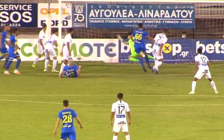 Ατρόμητος – Παναιτωλικός: Ο 17χρονος Κωνσταντόπουλος στο ντεμπούτο του ισοφάρισε σε 2-2!