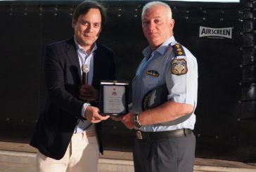 Ο Δήμαρχος Χαϊδαρίου τίμησε τον Αστυνομικό Διοικητή Κωνσταντίνο Παχή από τα Καλύβια