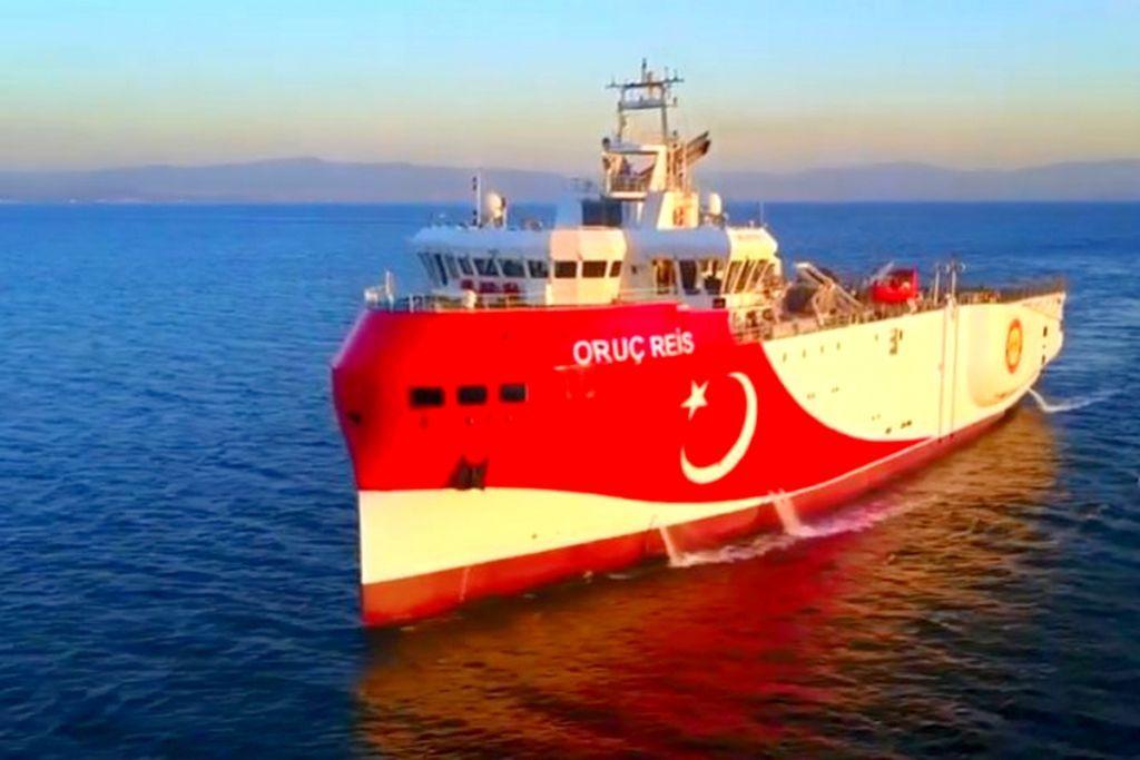 Oruc Reis: Παραμένει στην ελληνική υφαλοκρηπίδα