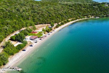 Η παραλία Παναγιά στη Βόνιτσα (βίντεο)