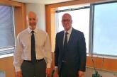 Συνάντηση Τ. Παπαδόπουλου με τον Υφυπουργό Ψηφιακής Διακυβέρνησης