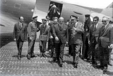 Είχε αεροπορικό ατύχημα ο Παττακός με τον Βραζιλιάνο Πρέσβη στο αεροδρόμιο του Αγρινίου;