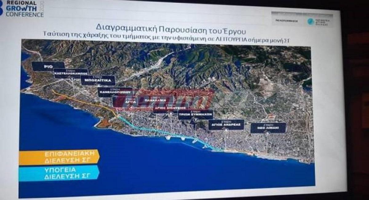Αθήνα – Πάτρα σε 1 ώρα και 40 λεπτά! Τι ανακοίνωσε ο Καραμανλής