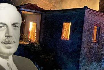 Θλίψη για την καταστροφή του Αρχοντικού Κατσώτα στη Σταμνά