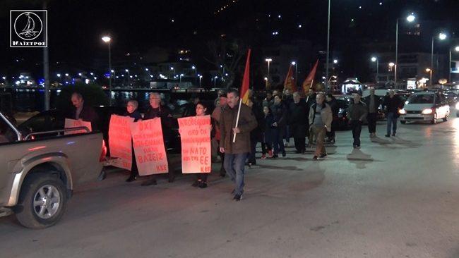 Αμφιλοχία: Πικετοφορία για το νομοσχέδιο που αφορά τις διαδηλώσεις